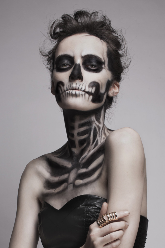 Skeleton makeup inspiration