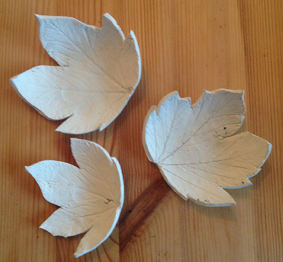 DIY Autumn leaf tea light holder tutorial step 7