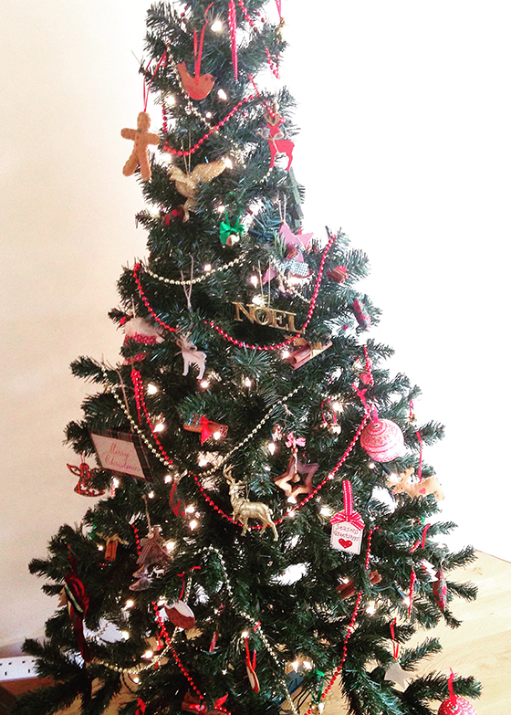 Traditional Christmas tree