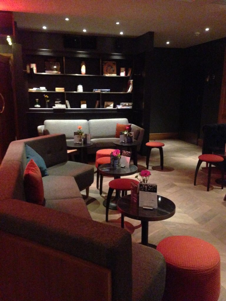 Bar lounge area of Everyman cinema Bristol