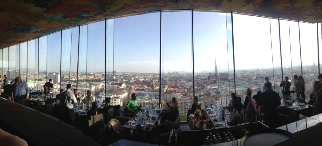view from Sofitel Vienna Stephansdom - Das Loft Restaurant