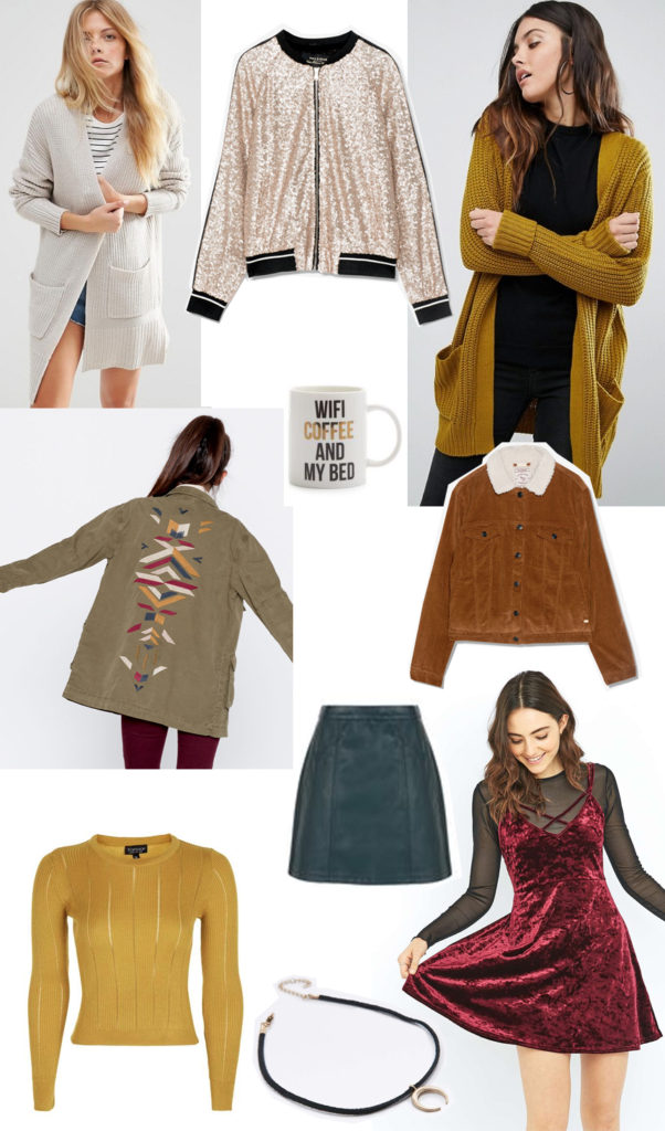 Autumn clothes wishlist