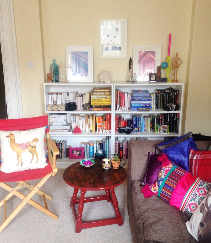 view-of-my-colourful-ecclectic-living-room-yellow-feather-blog