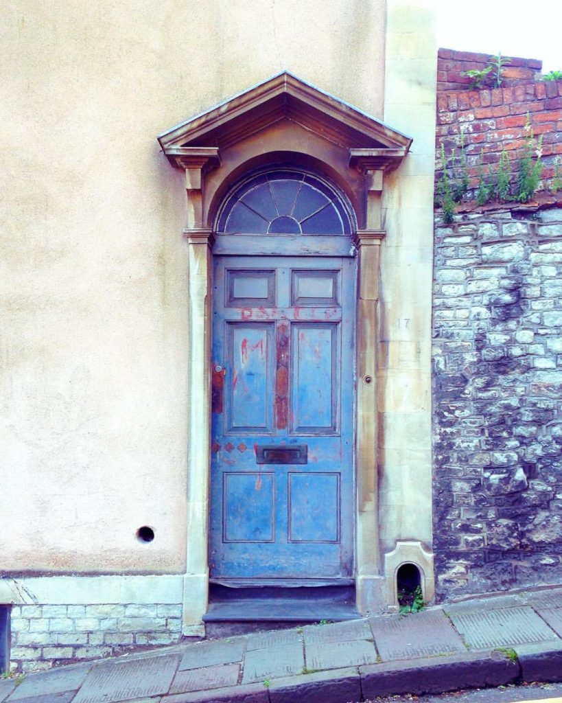blue-rustic-painted-bristol-door
