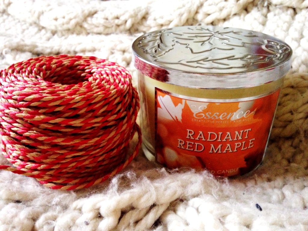 radiant red maple essence candle b&m bargains review yellow feather blog