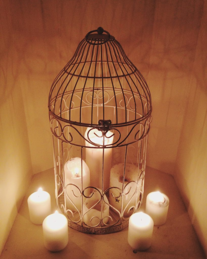 #2016BestNine instagram birdcage filled with candles yellow feather blog