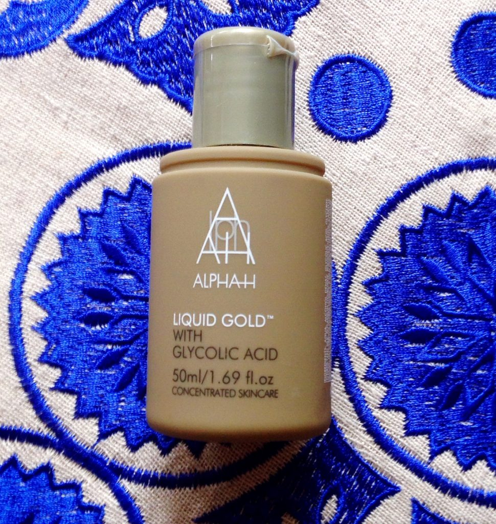Alpha H Liquid Gold Review - current skincare products I'm loving - yellow feather blog