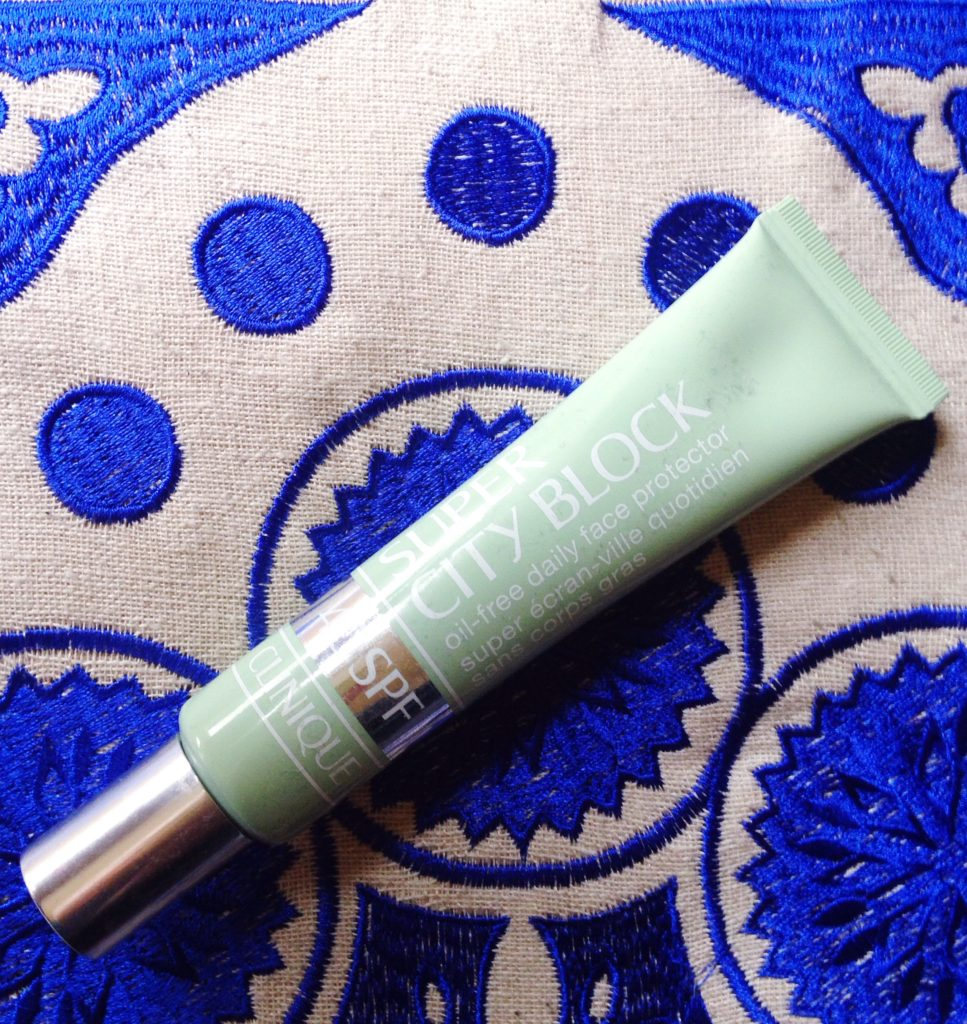 Clinique City Block review - current skincare products I'm loving - yellow feather blog