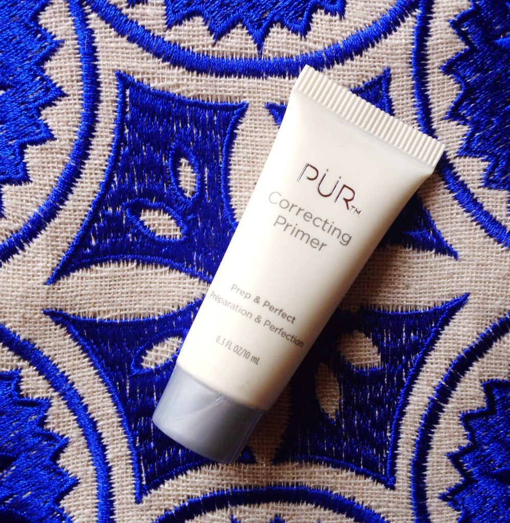 PUR correcting primer review - current skincare products I'm loving - yellow feather blog