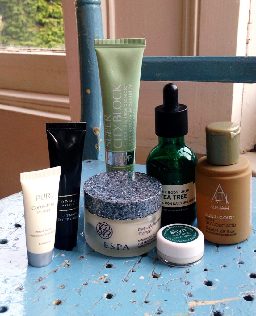 current skincare products I'm loving - yellow feather blog