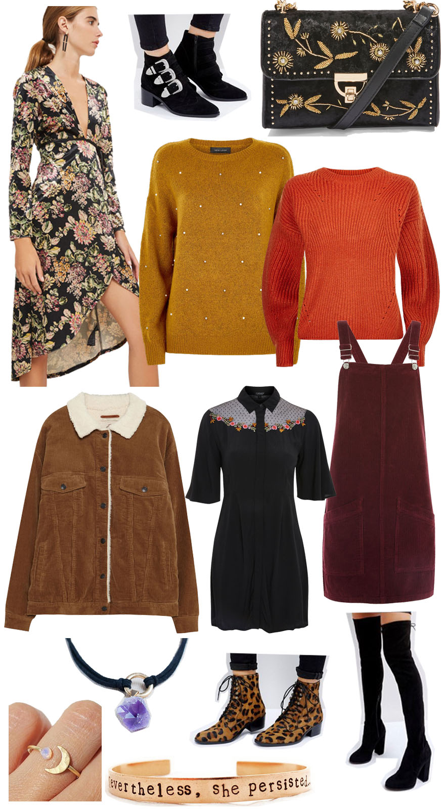 Autumn wishlist mood board
