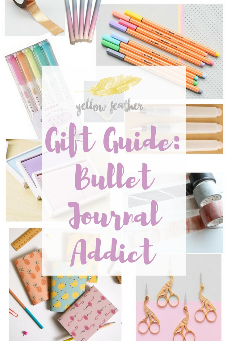 Gift Guide Bullet journal addict