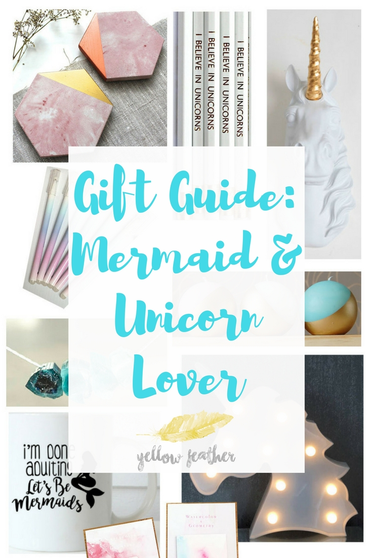 Gift Guide_ Mermaid & Unicorn Lover