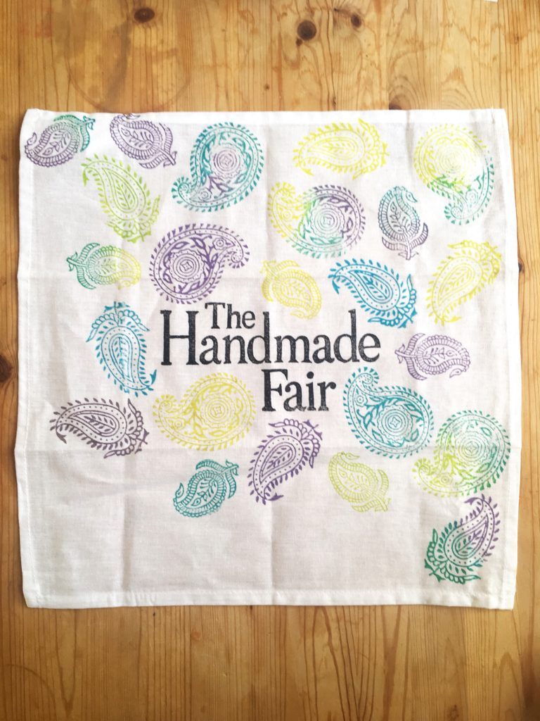 A crafty night at The Handmade Fair Bristol PR launch Yellow Feather Blog