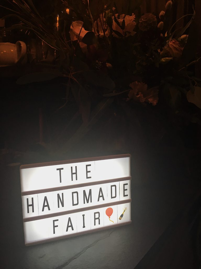 Welcome to The Handmade Fair Bristol PR launch Yellow Feather Blog