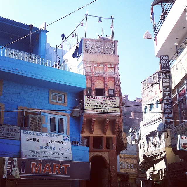 Jodhpur the blue city Rajasthan India Yellow Feather blog travel tuesday instagrammable locations