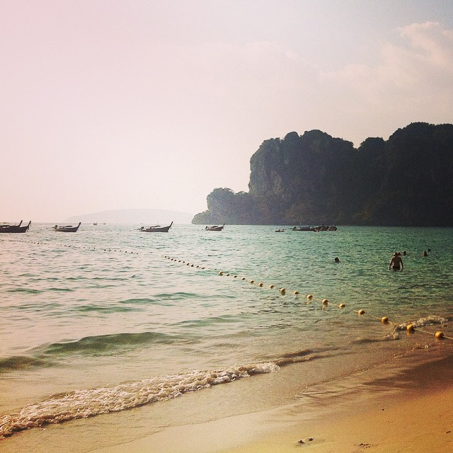 Railay Beach Yellow Feather Blog Travel Tuesday Instagrammable locations