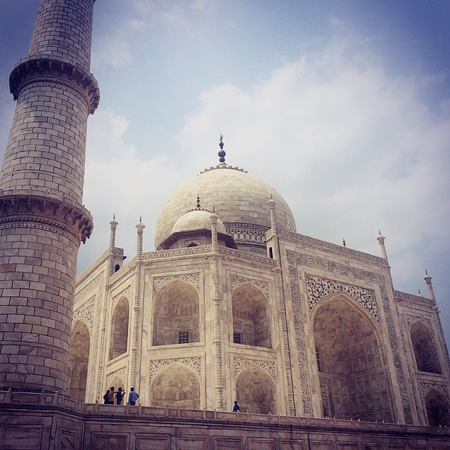 Taj Mahal Agra India Yellow Feather Blog Travel Tuesday Instagrammable locations