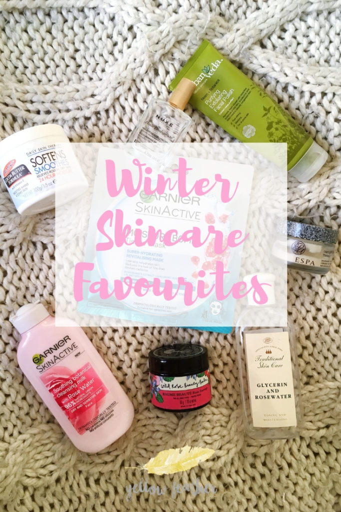 Winter Skincare Favourites Yellow Feather Blog