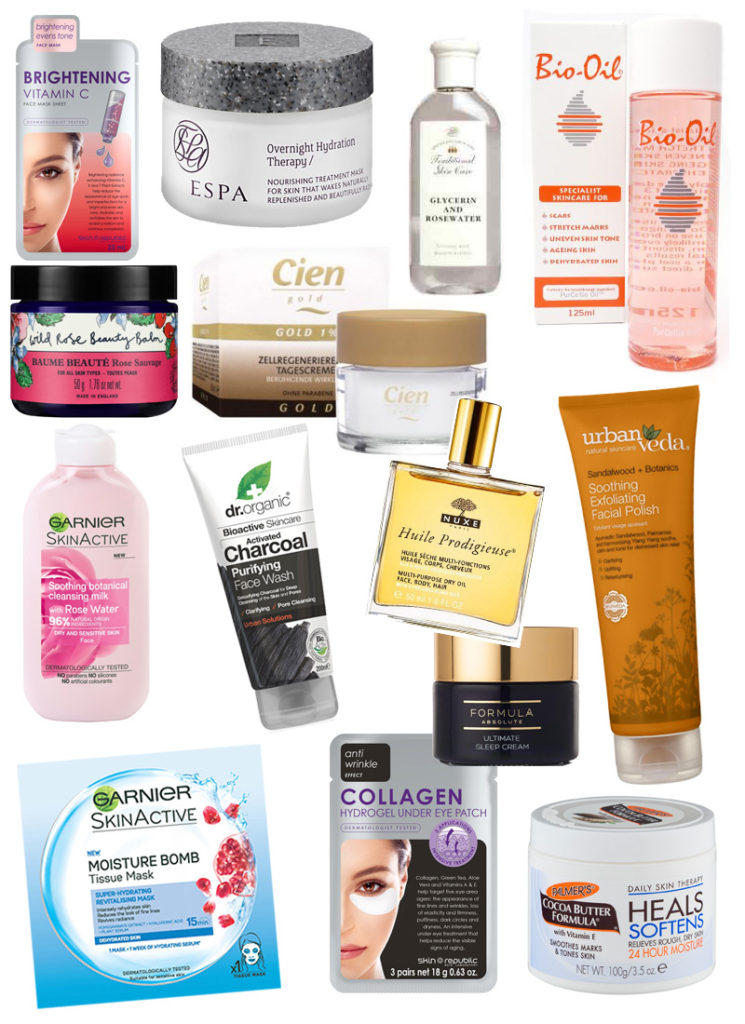 winter skincare facourites