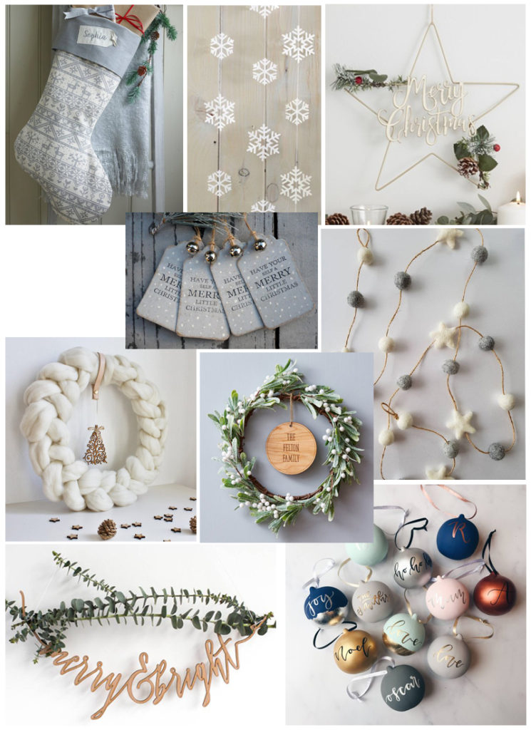 Etsy Christmas Decoration Guide 1
