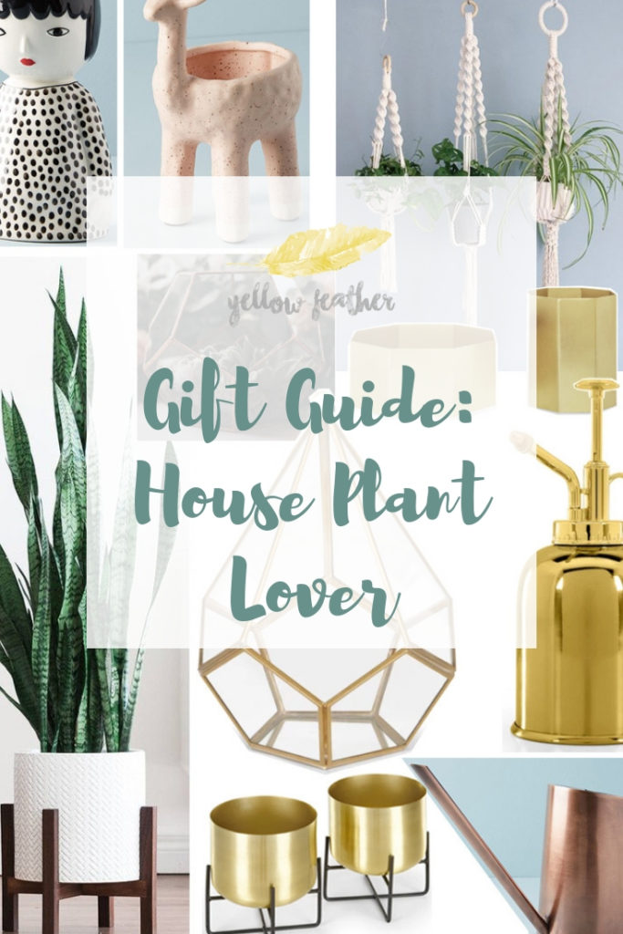Gift Guide House Plant Lover