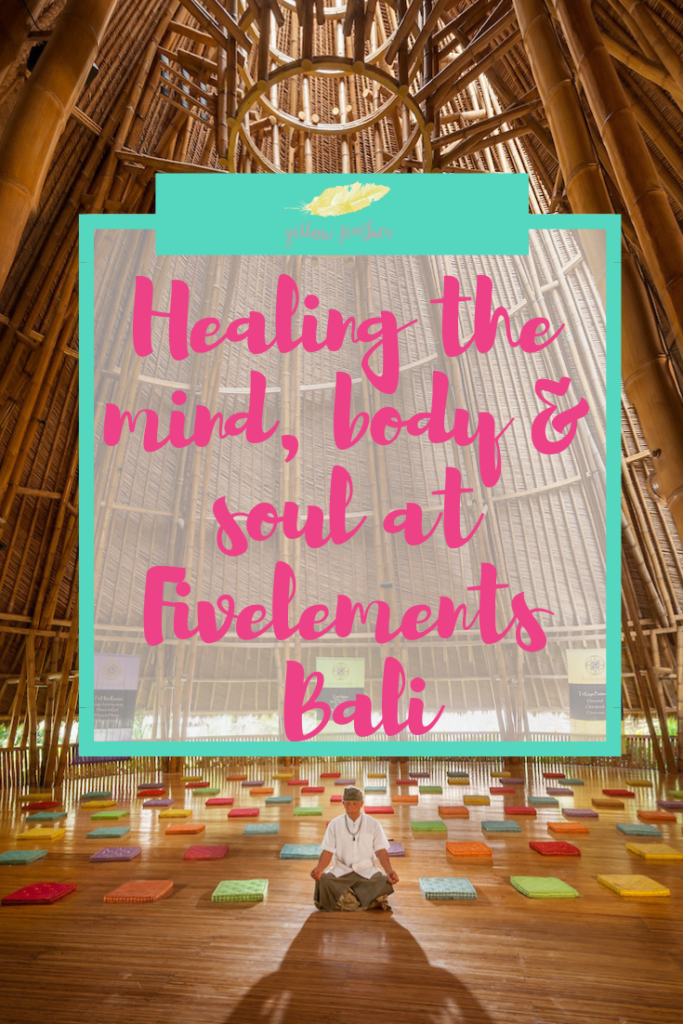 Healing the mind body soul at Fivelements Bali