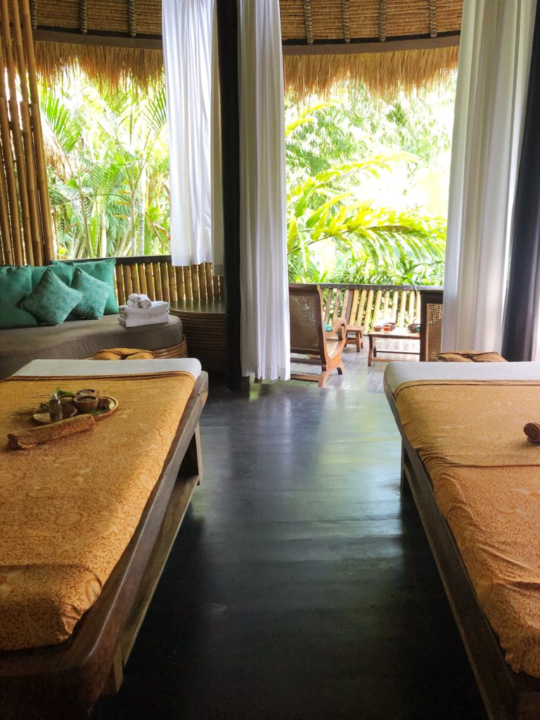 couples therapy room fivelements ubud bali yellow feather blog