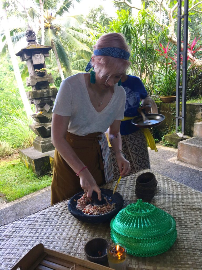 ubud cooking class bali solo female travel fears yellow feather blog