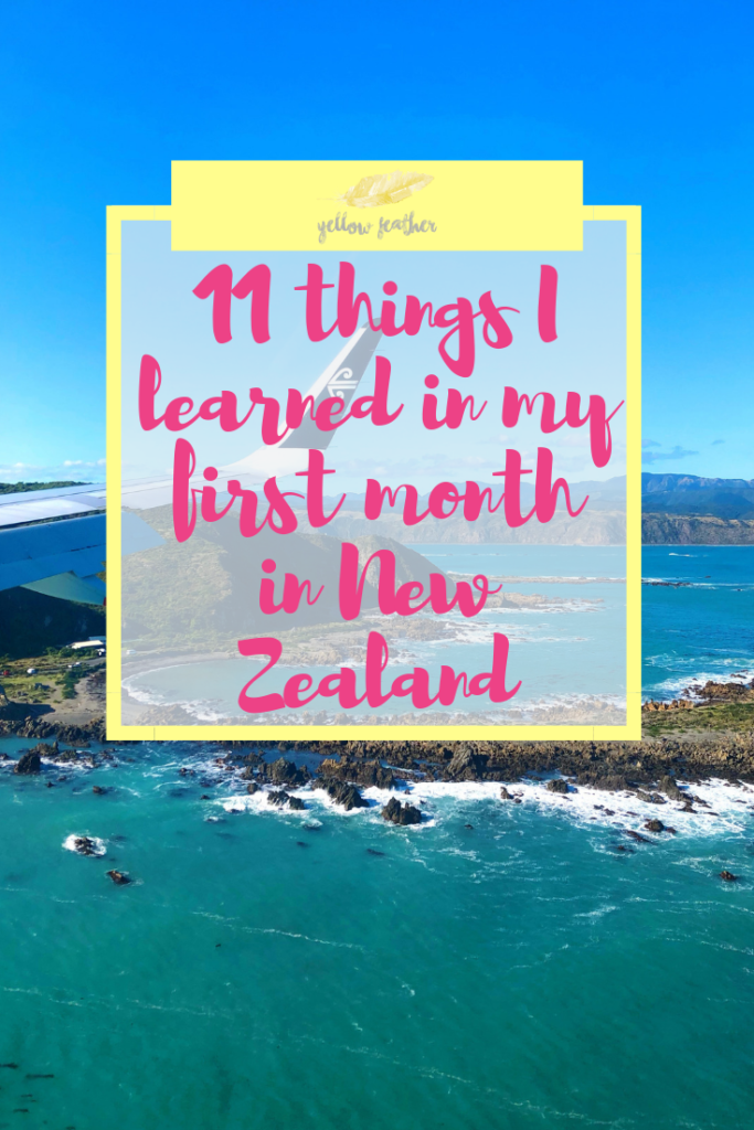 11 things I learned in my first month in New Zealand