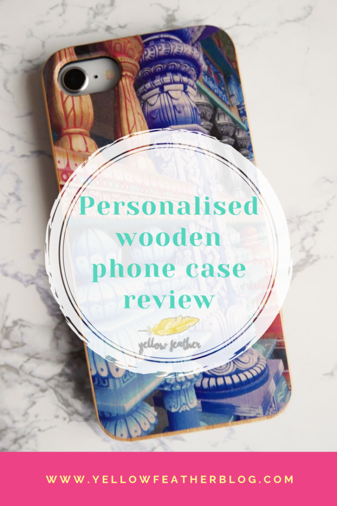 Personalised wooden phone case review