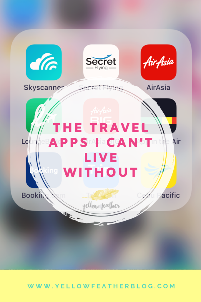 The travel apps I cant live without
