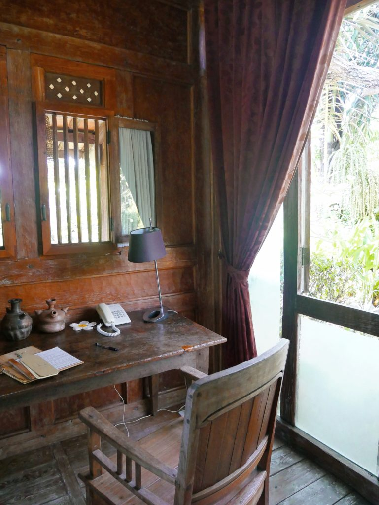 desk area Rumah Mandau village house desa seni 1