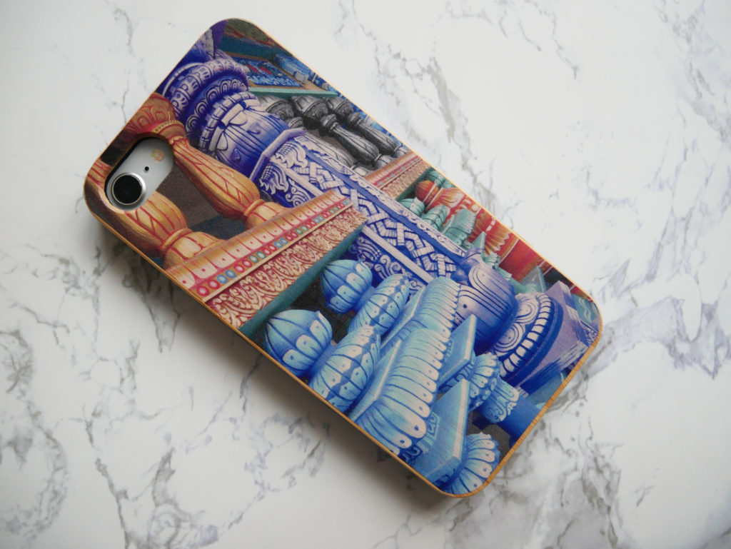 my personalised case review yellow feather blog