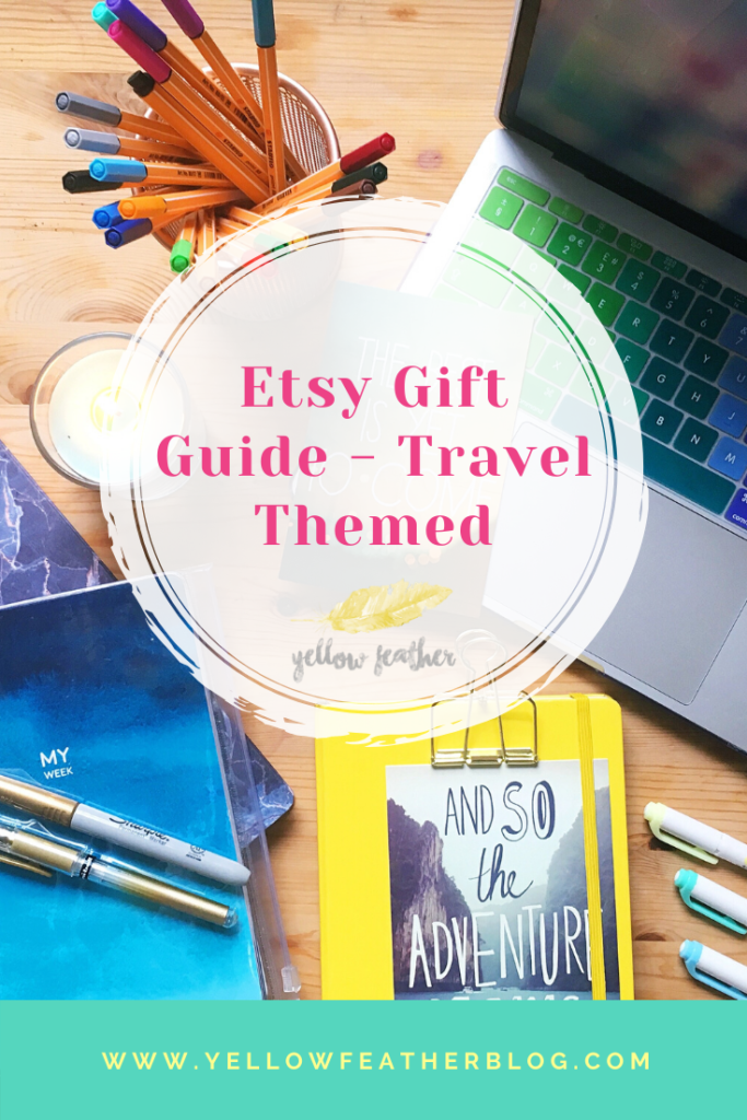 Etsy Gift Guide travel themed
