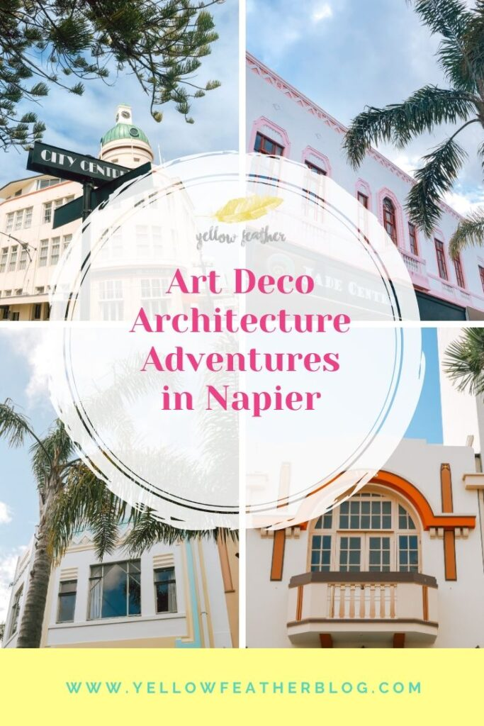 Art deco architecture adventures in napier new zealand 1